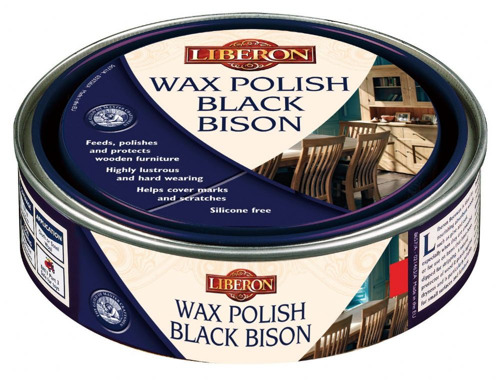 Liberon Wax Polish Black Bison Paste 500ml